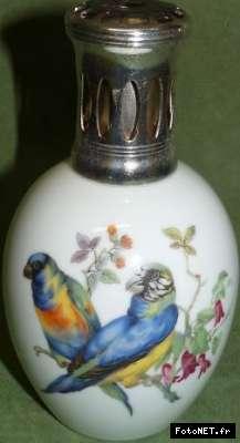 Lampe Berger Porcelaine De Limoges Ho Oiseaux