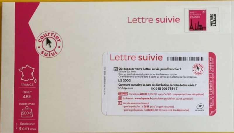 www.lettre suivie Prêt à Poster   Lettre Suivie   500g   Boite www.lettre suivie