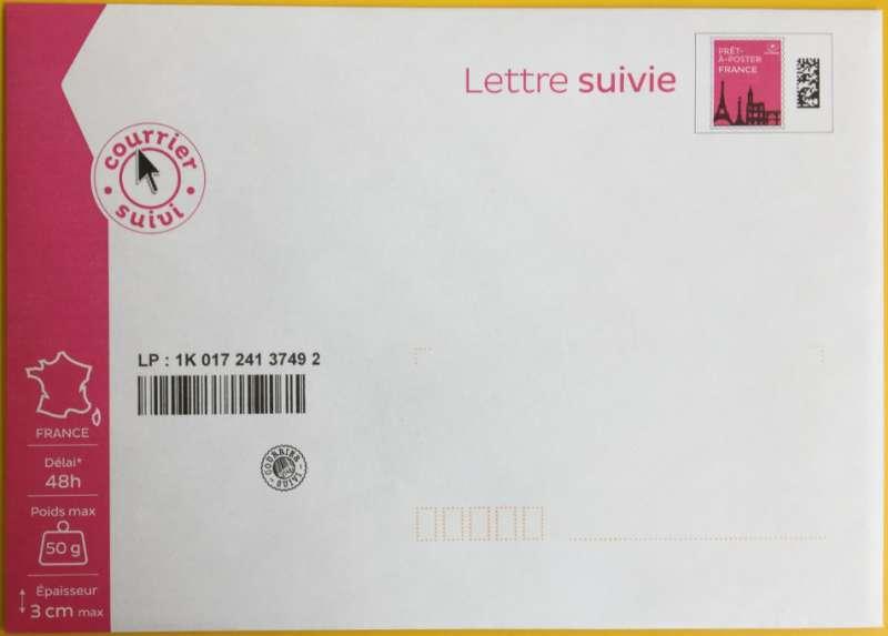 lettre suivie 50g Prêt à Poster   Lettre Suivie   50g lettre suivie 50g