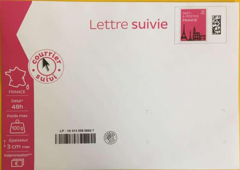 lettre suivie 100g Prêt à Poster   Lettre Suivie   100g lettre suivie 100g